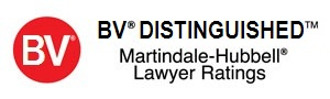 Martindale-Hubbell BV Distinguished Rating